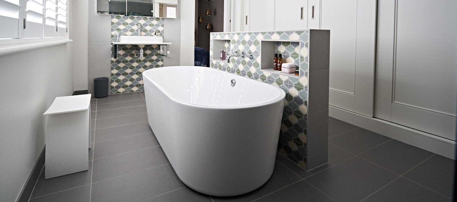 Areas page header bathroom image
