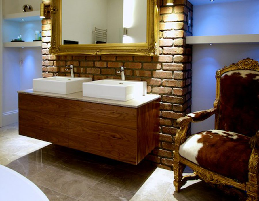 Image: Luxury Bathroom Hove with Bespoke Vanity