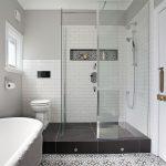 luxury bathroom encaustic tiles