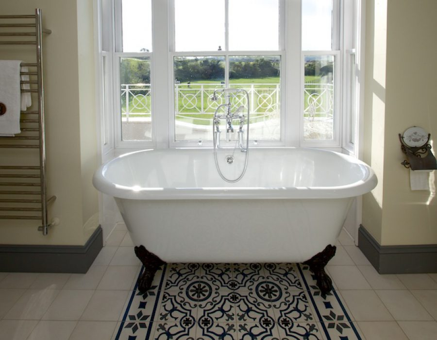 Image: French / Victorian inspired Bathrooms