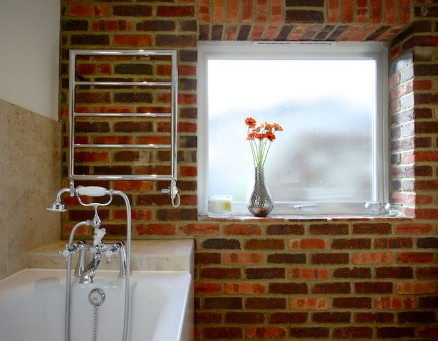 Image: Stylish Stone and Brick Steamroom in Brighton