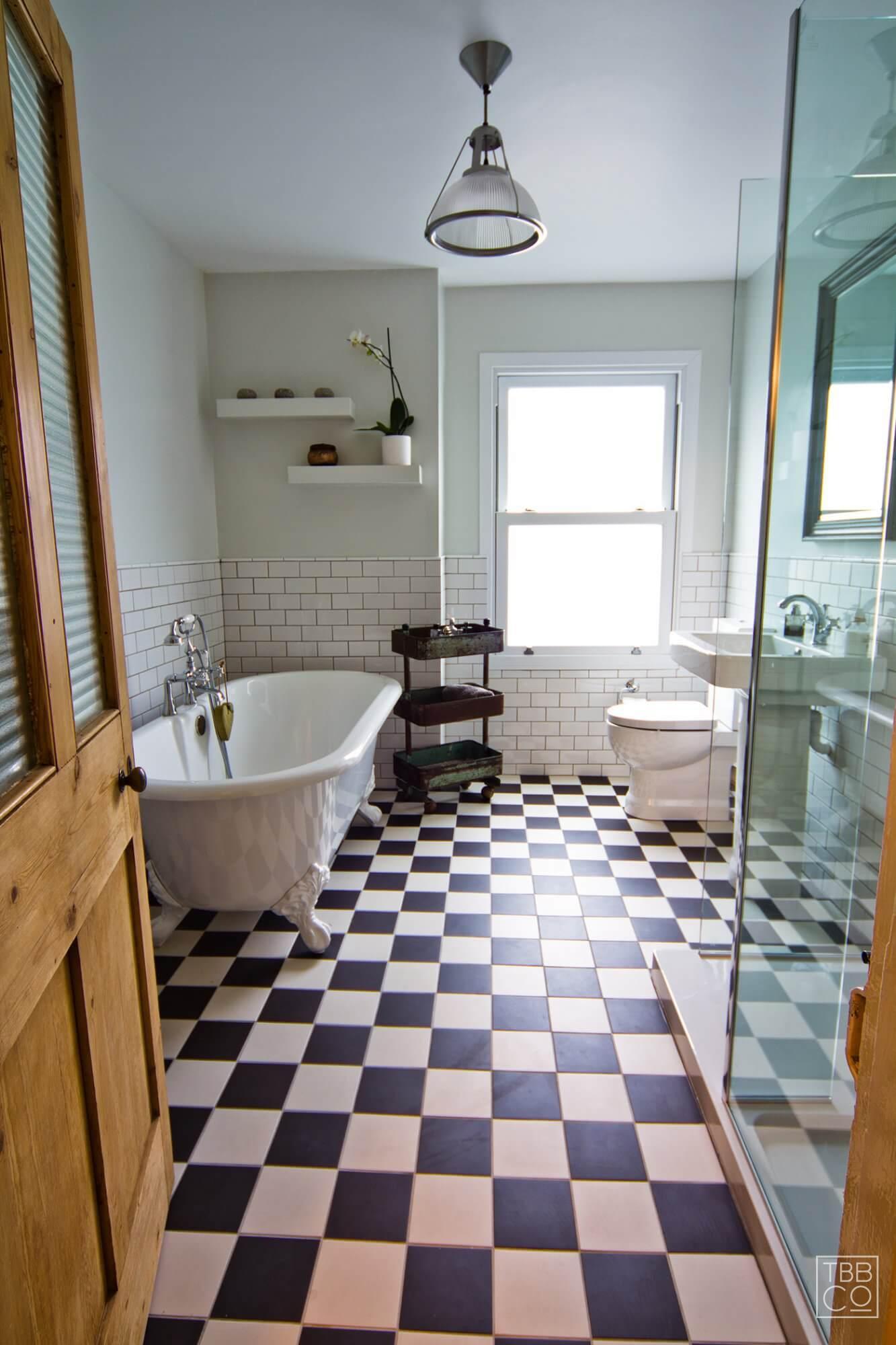 Traditional, fresh, elegant bathroom —Mortimer Road | The ...